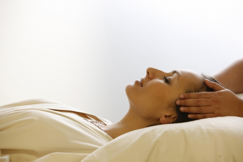 Relaxation and therapy with massages